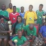 Nedbank donates sport kits to NDF