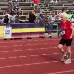 103-year-old runner sets world records