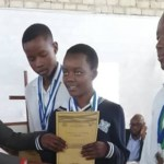 Hans Daniel Namuhuja SSS awards learners