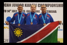 Namibia shines at Karate games