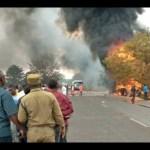Dozens killed in Tanzania fuel tanker explosion