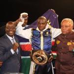 Shonena wins WBO Africa Welterweight Title