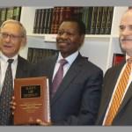 Oshakati High Court library receives books