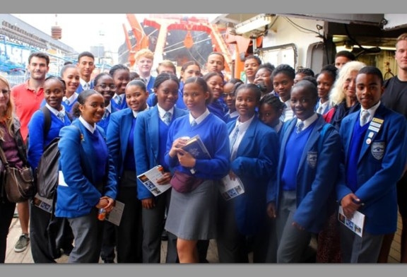 Climate research vessel opens new world for learners