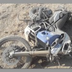 Senior police officer dies in motorcycle accident