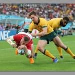 Welsh wins epic battle against the Wallabies
