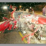 One person killed during car crash