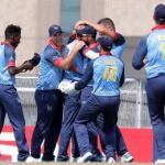 Namibian cricketers wins first match in Dubai