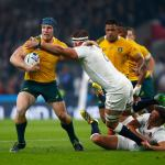Rugby World Cup enters knock-out stage