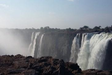 Water level in Zambezi River on the rise