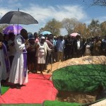 Emotions run high at funeral of panga massacre victims