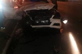 The Dogg involved in car crash