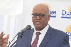 Dundee donates to Tsumeb Hospital