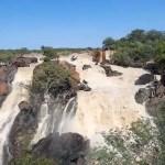 Ruacana Falls comes back to life