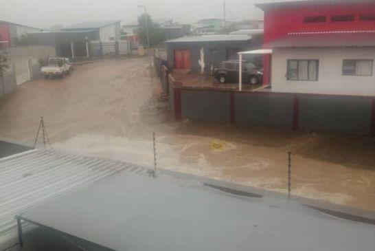 Okahandja inundated by sudden river flood