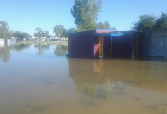 Informal settlements evacuated after flooding
