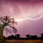 Lightning kills child