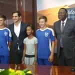 President Geingob welcomes a true champion