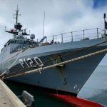 Brazilian Navy vessel on a visit to Walvis Bay
