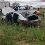 Five die as result of car crashes in rainy weather