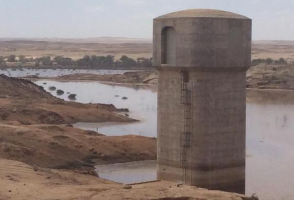 Omdel dam receives inflow