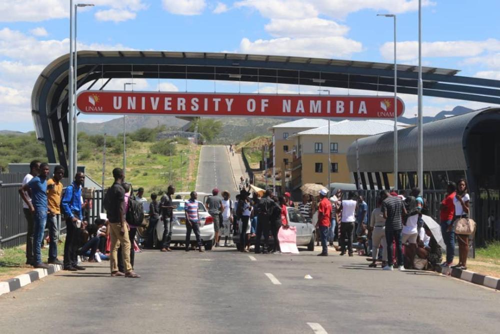 institutions Namibia shutdowns fears coronavirus