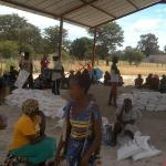 Chaotic distribution of drought relief at Okelemba