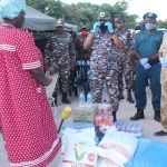 Security forces pay respect to deceased soldiers