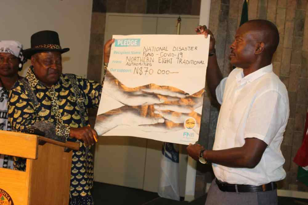 Traditional authorities assist COVID-19 fight regional governor