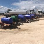Kunene secures five water tanks