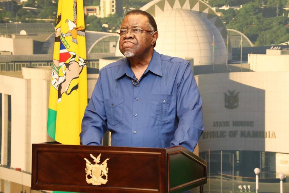 President day national prayer Hage Geingob