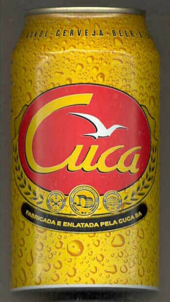 Cerveja Cuca Angolan beer Namibia bootleg market liquor