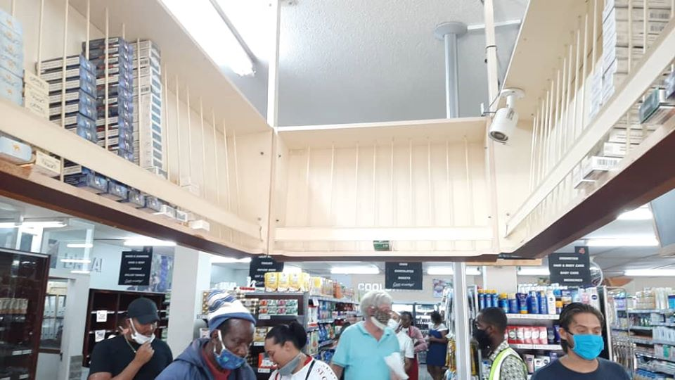 fake news radio station social media Namibian Government intends ban sale cigarettes panic