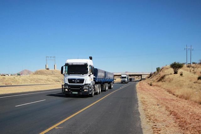 cross border transport essential goods services Namibia lives truck drivers outbreak coronavirus