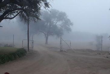 Icy weather keeps Namibians indoors