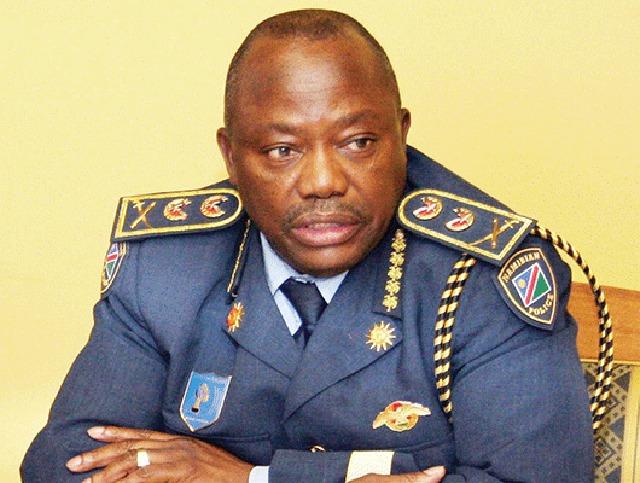 Inspector General Namibian Police Lieutenant General Sebastian Ndeitunga youth State Emergency regulations