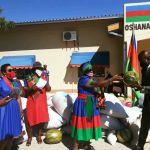 Oshana SPWC sends food to Erongo