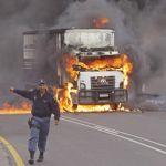 Truckers advised to halt travel to SA