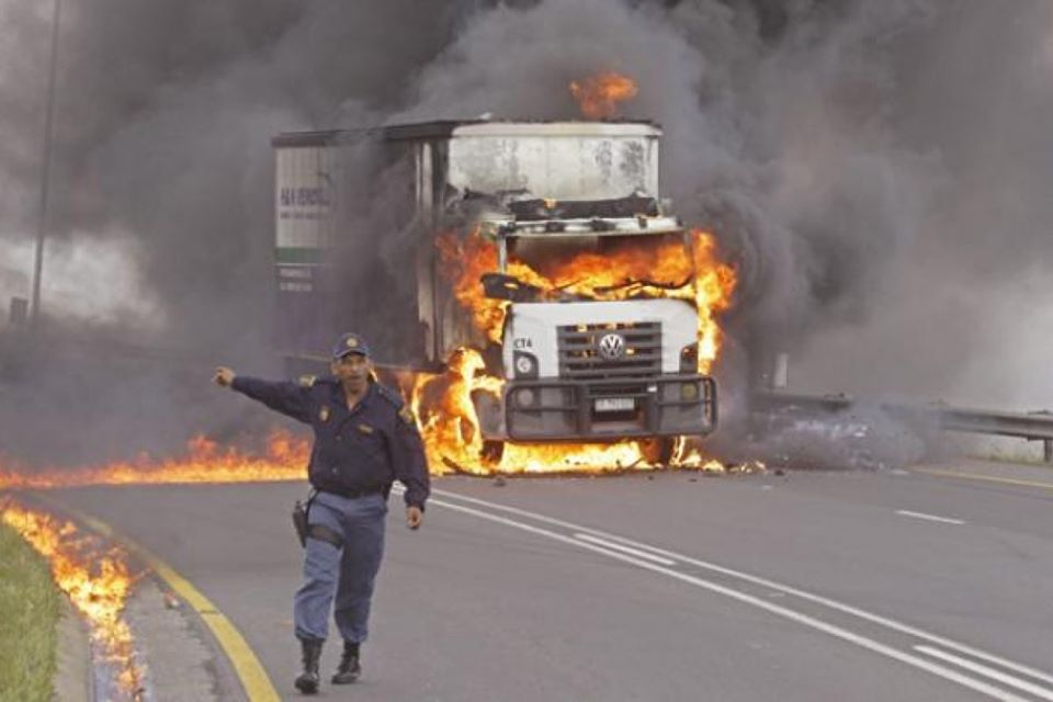 transportation essential goods services Namibia COVID-19 lockdown local truckers