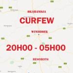 Historic curfew hits Capital