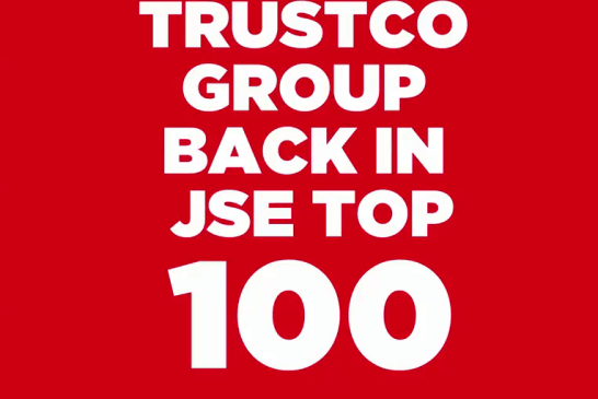 Trustco once again in Top 100 JSE Listed companies