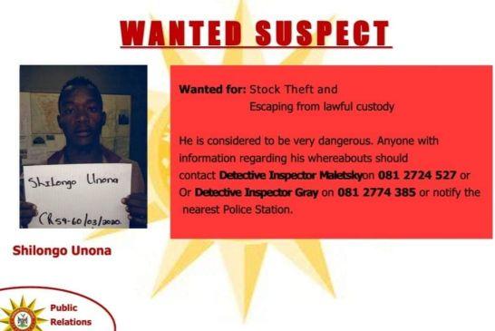 Dangerous criminals still missing