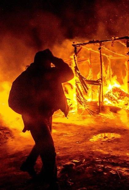 Fire kills injures toddlers Kauarive Komomungondo died trapped hut burned Otjongombe Village