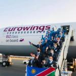 Namibia welcomes first tourist flight