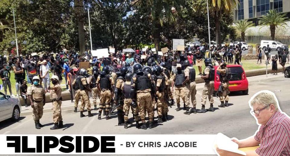 emotional young protestors violence women children vulnerable sidewalk