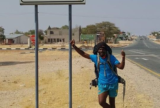 Epic journey on foot takes 26 days
