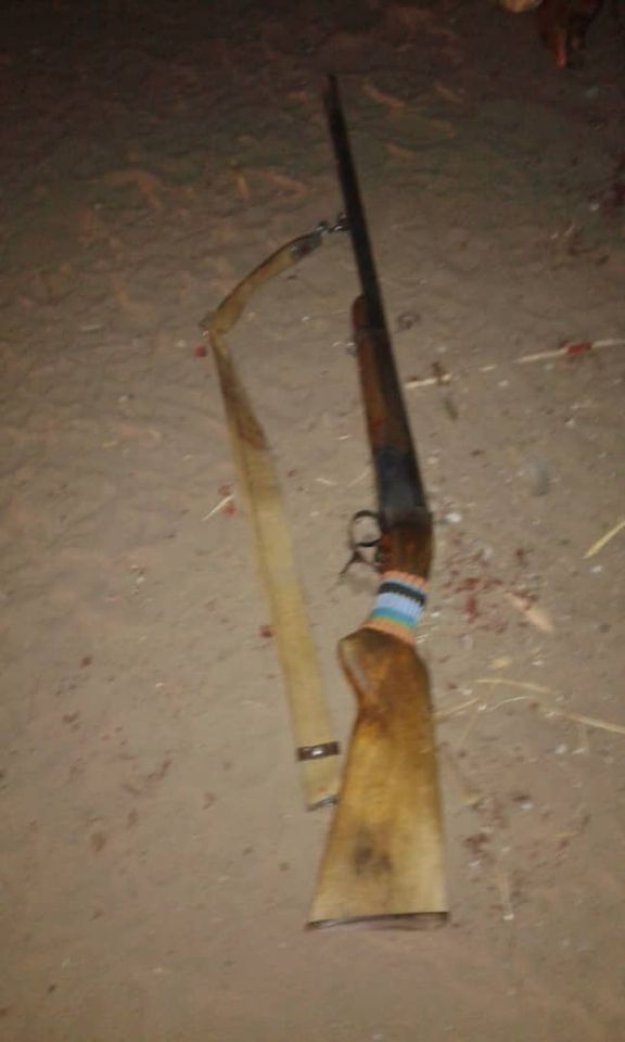 Man commits suicide brother rifle licensed fire-arms illegally