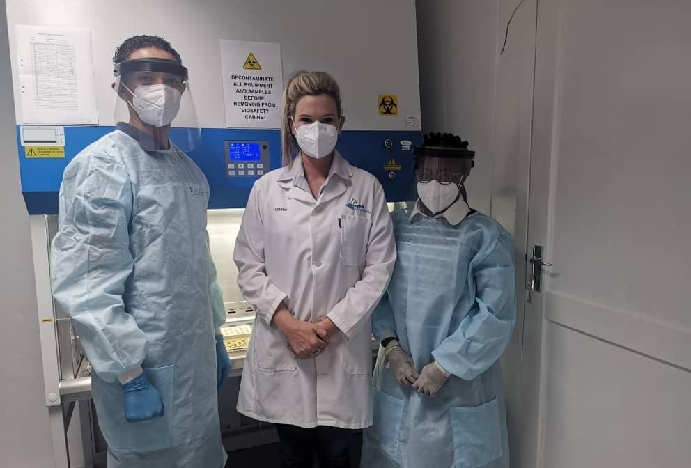 Namib Laboratories assist Covid-19 testing capacity analyse specimens private sector laboratory