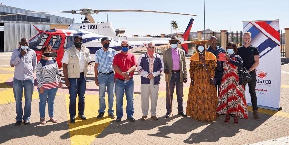Trustco treats senior citizens Trustco Group Namibia Namibia Civil Aviation Authority NCAA