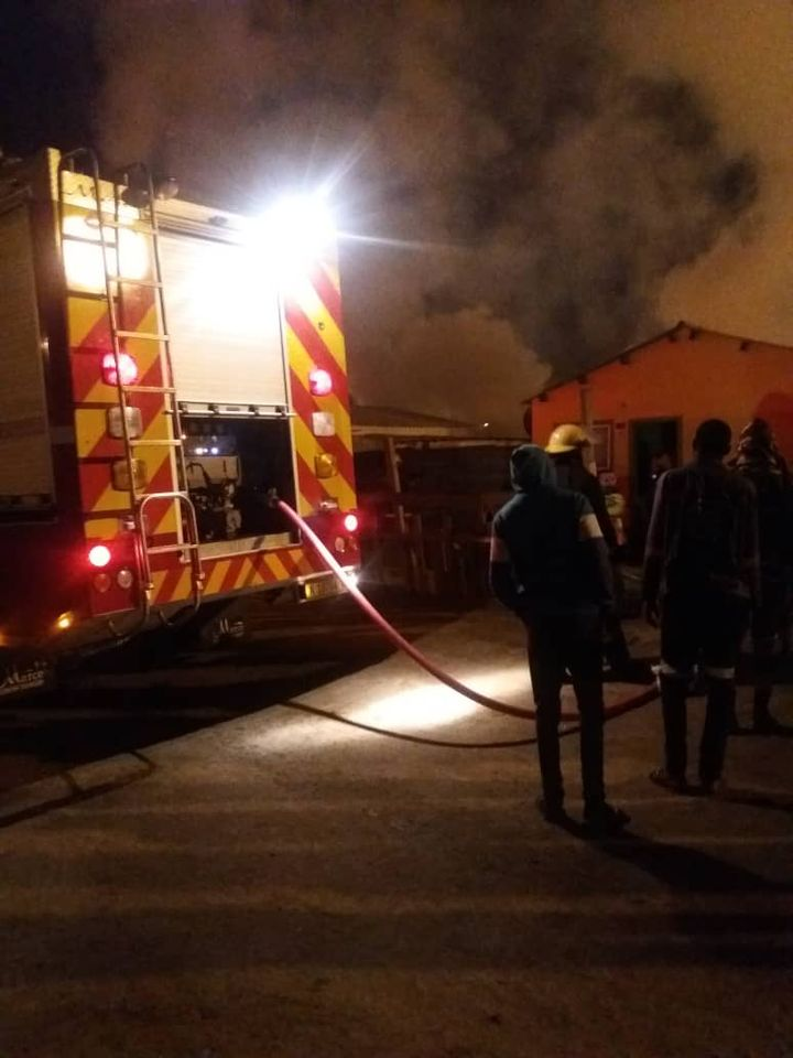 Zimbabwean national burns death shack fire Kuisebmond residential Walvis Bay